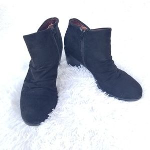 B.O.C. | suade black booties